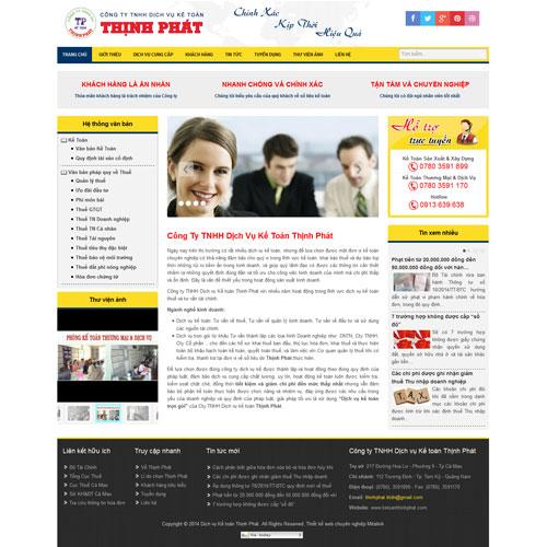 Công ty TNHH Dịch vụ Kế toán Thịnh Phát